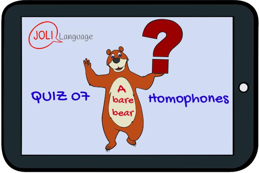 Quiz 07- Homophones