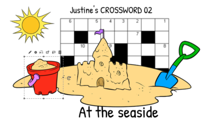 Justine's Crossword 02  At the seaside