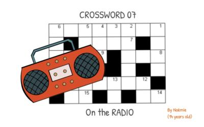 Noémie's Crossword 07  – On the radio