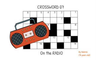 Noémie's Crossword 07  – On the radio