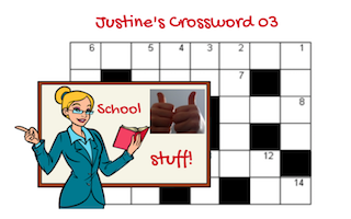 Justine's Crossword 03