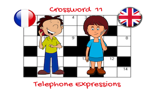 Crossword 11  Telephone Expressions