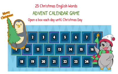 Justine's Advent Calendar Game