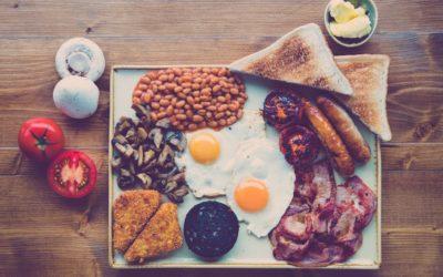 Anagramme -Le Petit Déjeuner Anglais