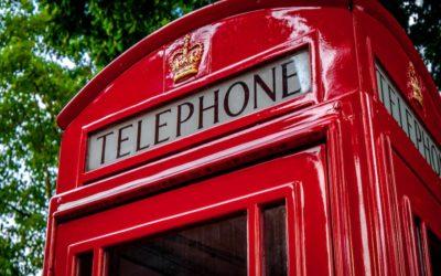 Au téléphone – Mots croisés – anglais- français