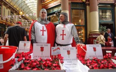 Le 23 avril c'est la Saint George, le saint patron anglais