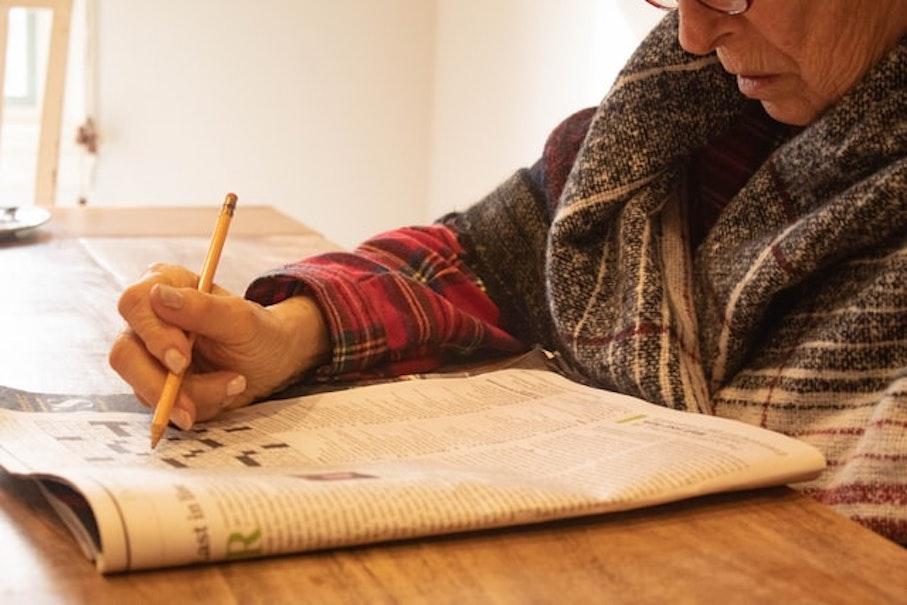 Mots croisés – Le passé simple ou prétérit